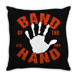 band of the hand Throw Pillow | Artistshot