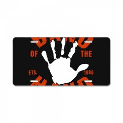 band of the hand License Plate | Artistshot