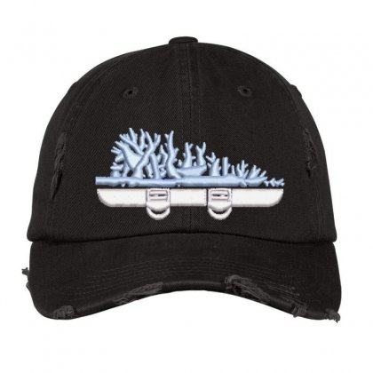 Roots Embroidered Hat Distressed Cap Designed By Madhatter