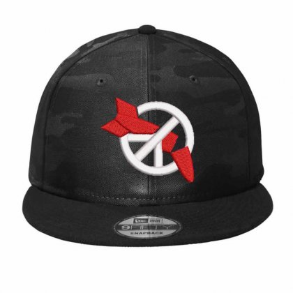Rocket Embroidered Hat Camo Snapback Designed By Madhatter