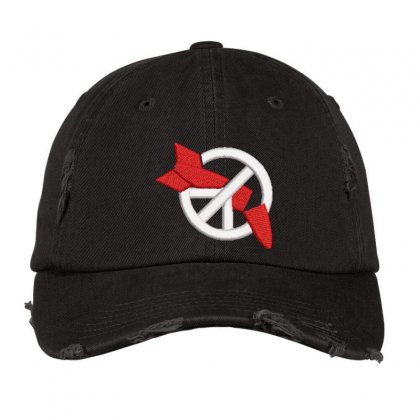 Rocket Embroidered Hat Distressed Cap Designed By Madhatter