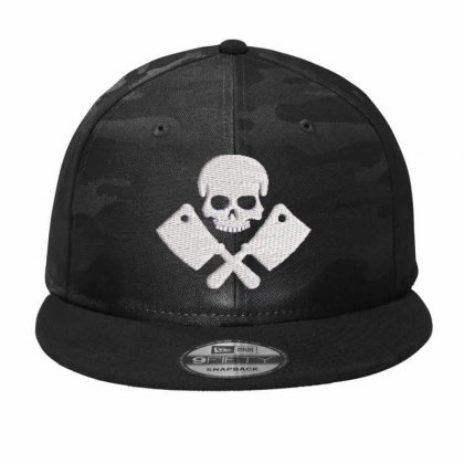 Butcher Embroidered Hat Camo Snapback Designed By Madhatter