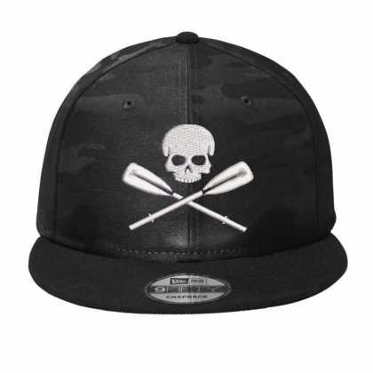 Skeleton Embroidered Hat Camo Snapback Designed By Madhatter