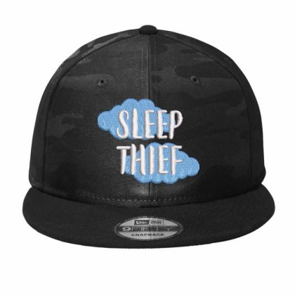 Sleep Thief Embroidered Hat Camo Snapback Designed By Madhatter