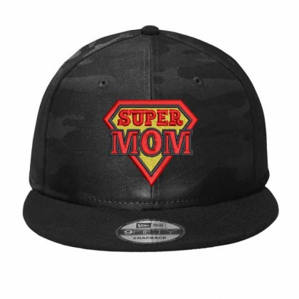 Super Mom Embroidered Hat Camo Snapback Designed By Madhatter
