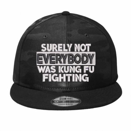 Everybody Embroidered Hat Camo Snapback Designed By Madhatter