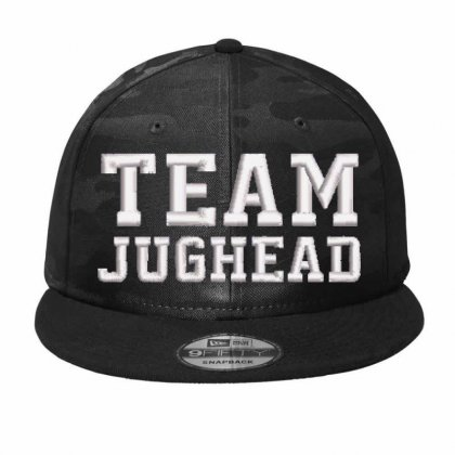 Team Jughead Embroidered Hat Camo Snapback Designed By Madhatter