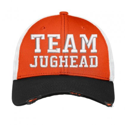 Team Jughead Embroidered Hat Vintage Mesh Cap Designed By Madhatter