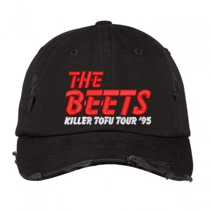 The Beets Embroidered Hat Distressed Cap Designed By Madhatter