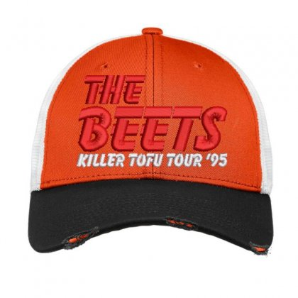 The Beets Embroidered Hat Vintage Mesh Cap Designed By Madhatter