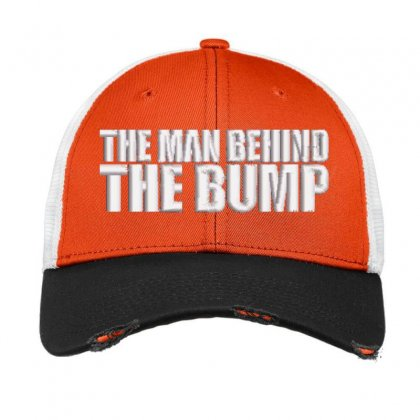 The Bump Embroidered Hat Vintage Mesh Cap Designed By Madhatter