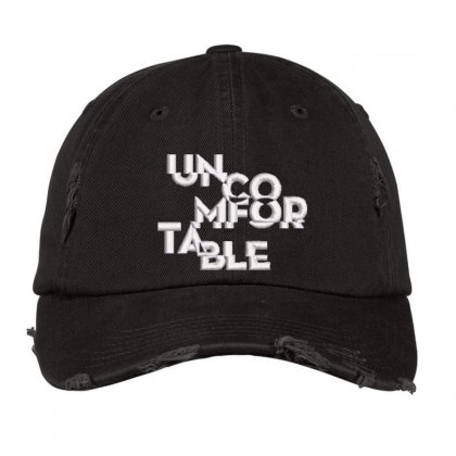 Uncom For Table Embroidered Hat Distressed Cap Designed By Madhatter