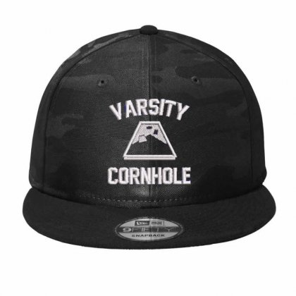 Varsity Embroidered Hat Camo Snapback Designed By Madhatter