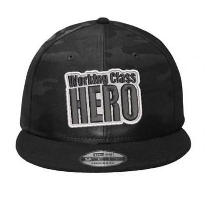 Hero Embroidered Hat Camo Snapback Designed By Madhatter