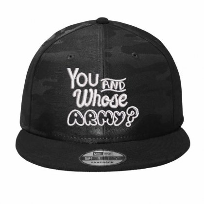 Whose Army Embroidered Hat Camo Snapback Designed By Madhatter