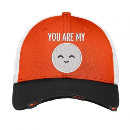 You Are My Embroidered Hat Vintage Mesh Cap Designed By Madhatter