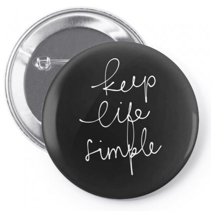 Keep Life Pin-back Button Designed By Sucipto
