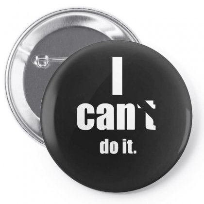 I Cant Pin-back Button Designed By Sucipto