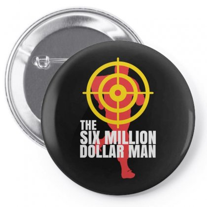 Bionic Man Classic Pin-back Button Designed By Helloshop