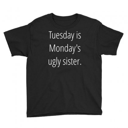 Tuesday Is Ugly Youth Tee Designed By Sucipto