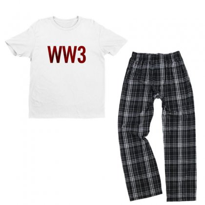 World Youth T-shirt Pajama Set Designed By Farith0502