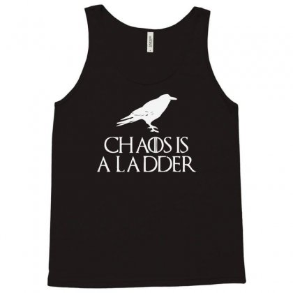 Chaos Is A Ladder Tank Top Designed By Sucipto