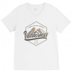 wild adventure mountain travel V-Neck Tee | Artistshot