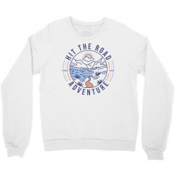 wild adventure mountain travel Crewneck Sweatshirt | Artistshot