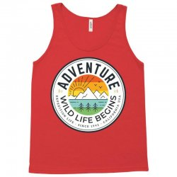 wild adventure mountain travel Tank Top | Artistshot