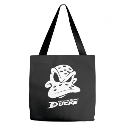Ducks Anaheim Tote Bags Designed By Cocoloneo