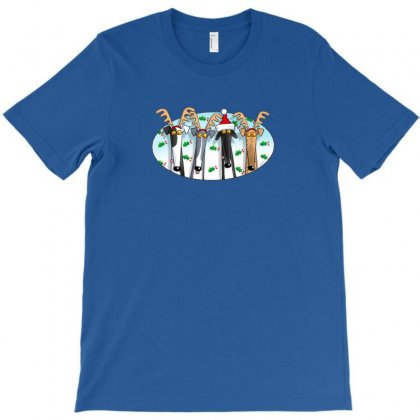 Greyhound Antlers T-shirt Designed By Ratna Tier