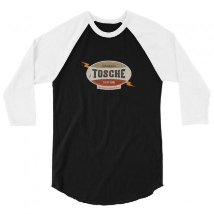 Tosche Station Merch 3/4 Sleeve Shirt Designed By Ratna Tier