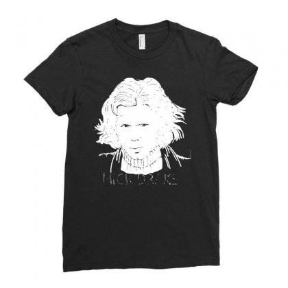 Nick Drake Ladies Fitted T-shirt Designed By Funtee