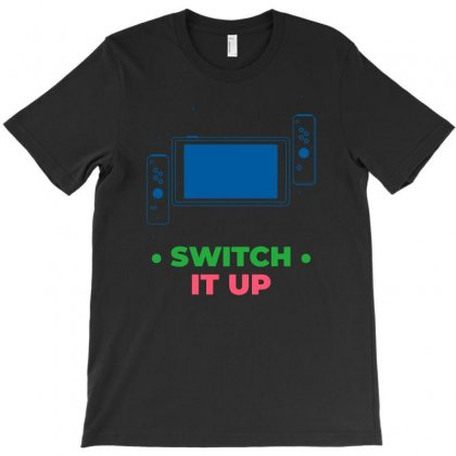 Switch It Up T-shirt Designed By Funtee