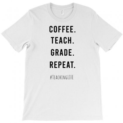 Teaching Cycle T-shirt Designed By Funtee