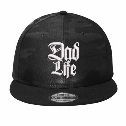 Dad Life Embroidered Hat Camo Snapback Designed By Madhatter