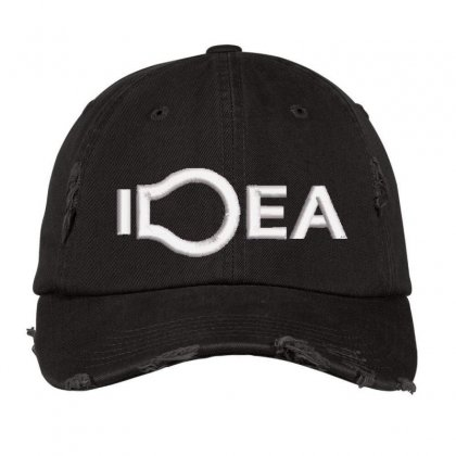 Idea Embroidered Hat Distressed Cap Designed By Madhatter