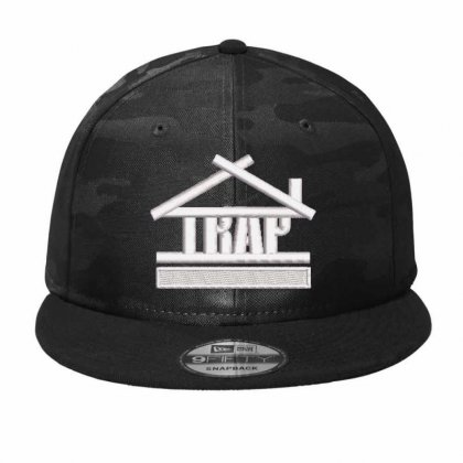 Trap Embroidered Hat Camo Snapback Designed By Madhatter