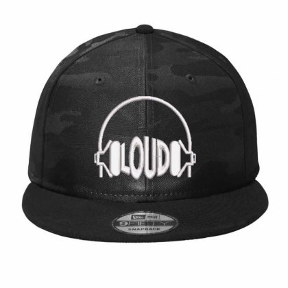 Loud Embroidered Hat Camo Snapback Designed By Madhatter