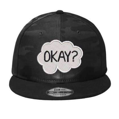 Okay  Embroidered Hat Camo Snapback Designed By Madhatter