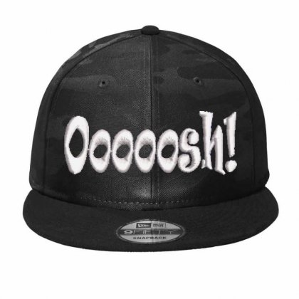 Ooooosh Embroidered Hat Camo Snapback Designed By Madhatter