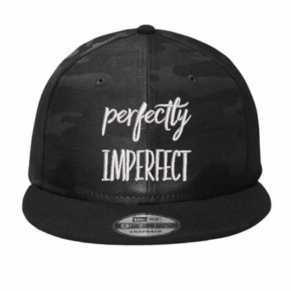 Perfectly Imperfect Embroidered Hat Camo Snapback Designed By Madhatter