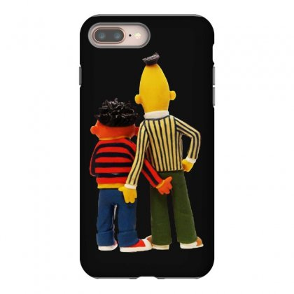 Real Love Bert And Ernie Iphone 8 Plus Case Designed By Jurdex Tees