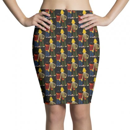 Real Love Bert And Ernie Pencil Skirts Designed By Jurdex Tees