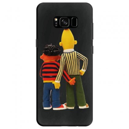 Real Love Bert And Ernie Samsung Galaxy S8 Case Designed By Jurdex Tees