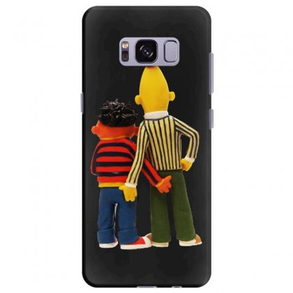 Real Love Bert And Ernie Samsung Galaxy S8 Plus Case Designed By Jurdex Tees