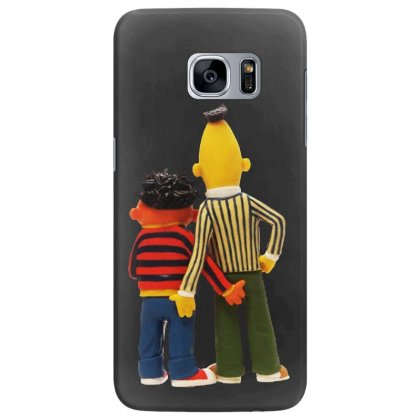 Real Love Bert And Ernie Samsung Galaxy S7 Edge Case Designed By Jurdex Tees