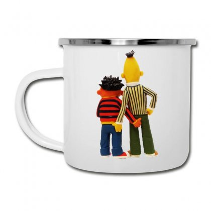 Real Love Bert And Ernie Camper Cup Designed By Jurdex Tees