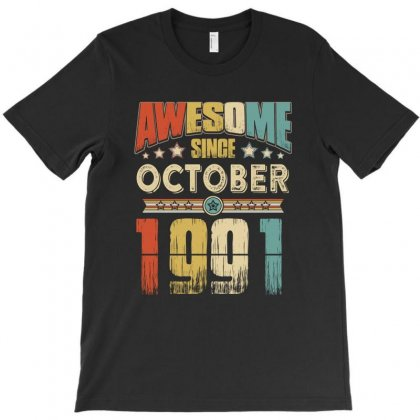 Awesome Since October 1991 T-shirt Designed By Hung