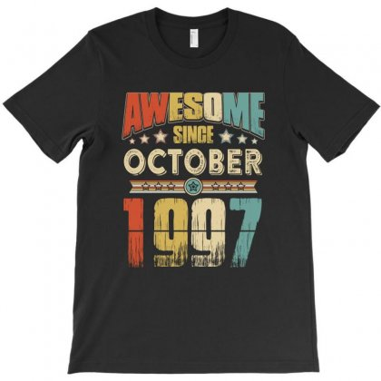 Awesome Since October 1997 T-shirt Designed By Hung